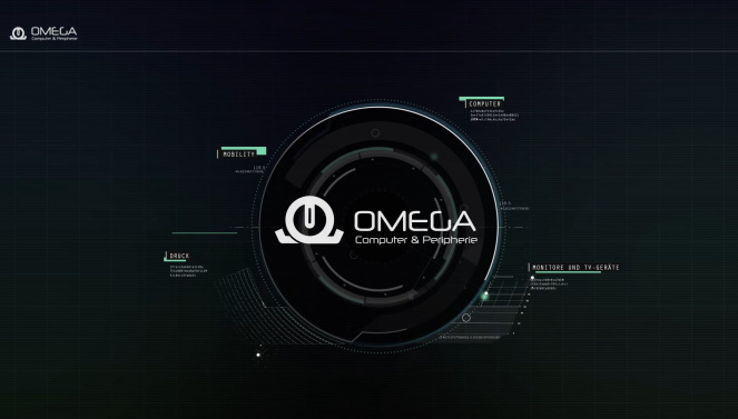 Omega Messestand Animation