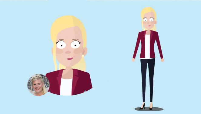 Charakter Heidi
