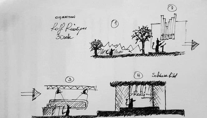 Skizze Rolf Rüdiger