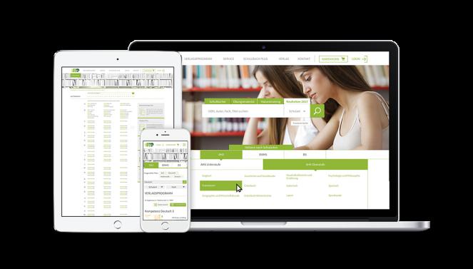 Screendesign Startseite Autorensuche Website HPT
