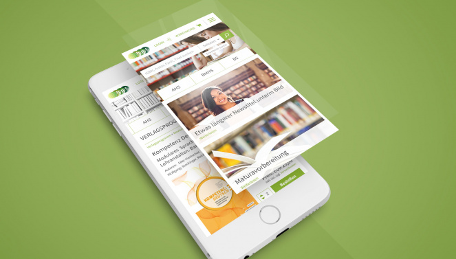 Responsive Design Mockup Website HPT