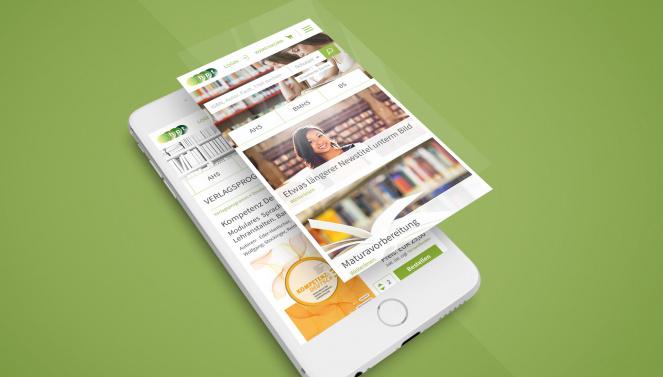 Responsive Design Mockup Website HPT
