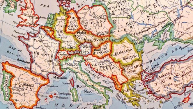 Mehrsprachigkeit der Website Weltkarte