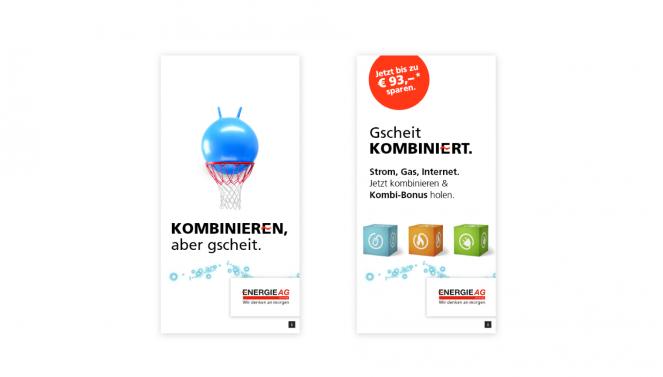 Screendesign Werbemittel